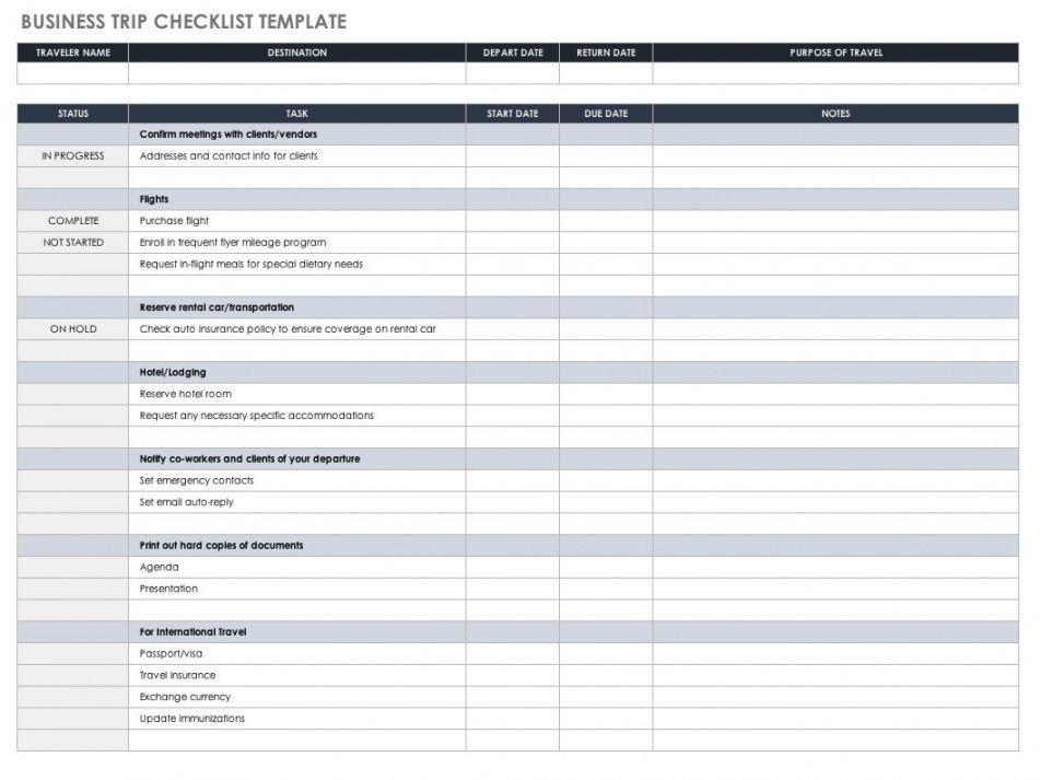 30 free task and checklist templates  smartsheet weekly checklist template excel doc