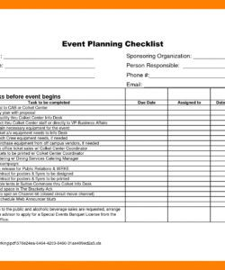 charity golf tournament planning checklist template samples free fundraising checklist template excel