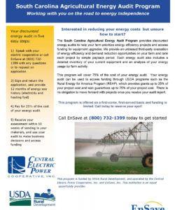 diy home energy audit checklist template samples south carolina energy audit checklist template
