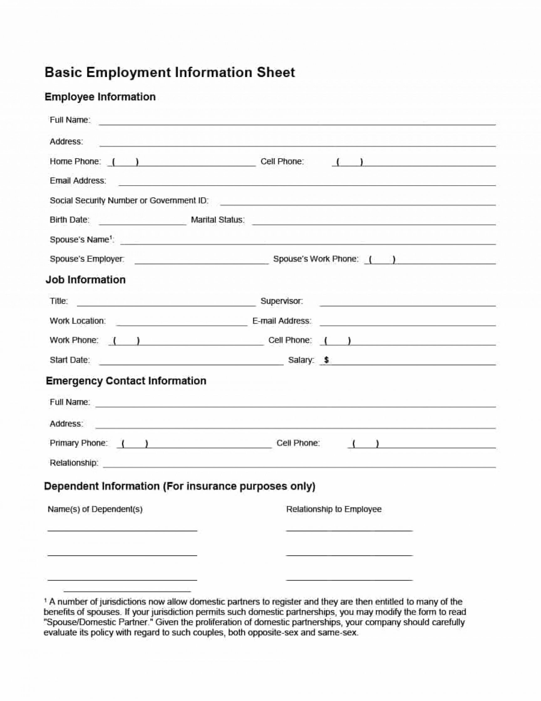 editable 007 employee personnel file template information form awesome ideas employee personnel file checklist template