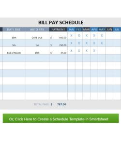 editable 32 free bill pay checklists & bill calendars pdf word & excel payment checklist template excel