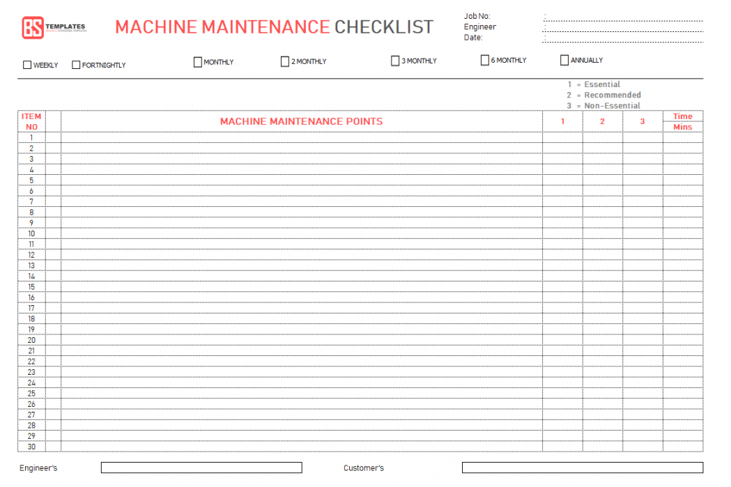 editable checklist template samples monthly bill excel close sample month end monthly inspection checklist template doc
