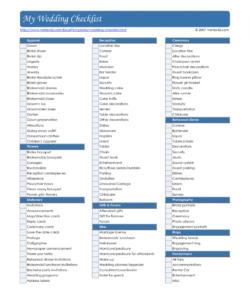 editable checklist template samples wedding decor uk table reception pdf wedding decoration checklist template excel