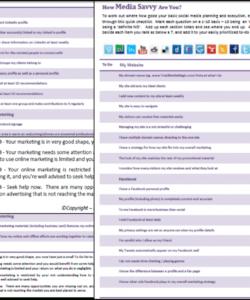 editable social media checklist pdf template marketing before  martinforfreedom social media checklist template examples