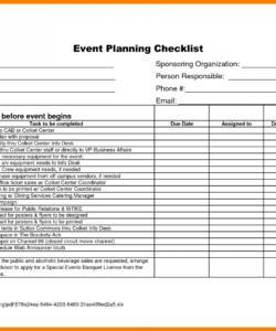 event planner template free  captaincicerosco corporate event checklist template samples