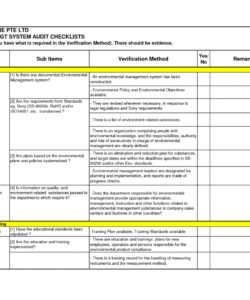 facility security audit checklist template samples by greatjob2 corn it security audit checklist template doc
