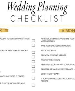 free 11 free printable wedding planning checklists wedding timeline checklist template