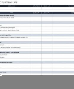 free 30 free task and checklist templates  smartsheet technical checklist template