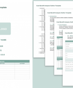 free cost benefit analysis templates smartsheet operation cost analysis template doc