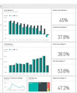free customer profitability sample for power bi take a tour  microsoft customer profitability analysis template pdf