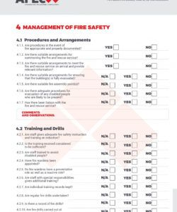 free fire safety risk assessment checklist template what to do after risk assessment checklist template excel