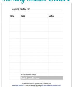free free printable morning routine chart {plus how to use it} daily routine checklist template doc