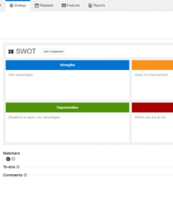 free free swot analysis templates  aha! portfolio analysis template excel