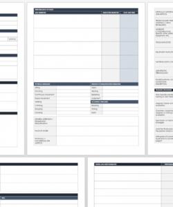free job analysis templates  smartsheet functional job analysis template excel