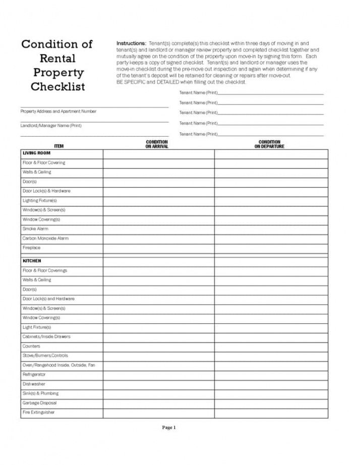free printable home inspection checklist for buyers and inspection report rental inventory checklist template excel