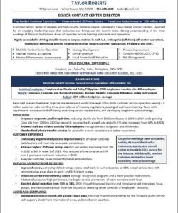 free resume example  call center call center checklist template samples