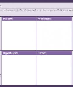 free swot analysis matrix template  self improvement  swot analysis home market analysis template