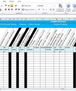 free training needs analysis template free  excel tmp training gap analysis template example