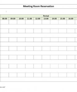meeting room reservation form meeting room checklist template samples