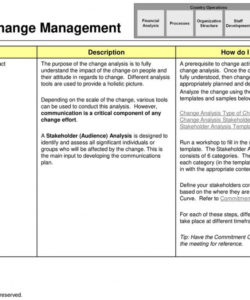 overview  change management  ppt download change management stakeholder analysis template sample