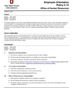 printable 14 new employee orientation program checklist  pdf  examples orientation checklist template for new employee pdf