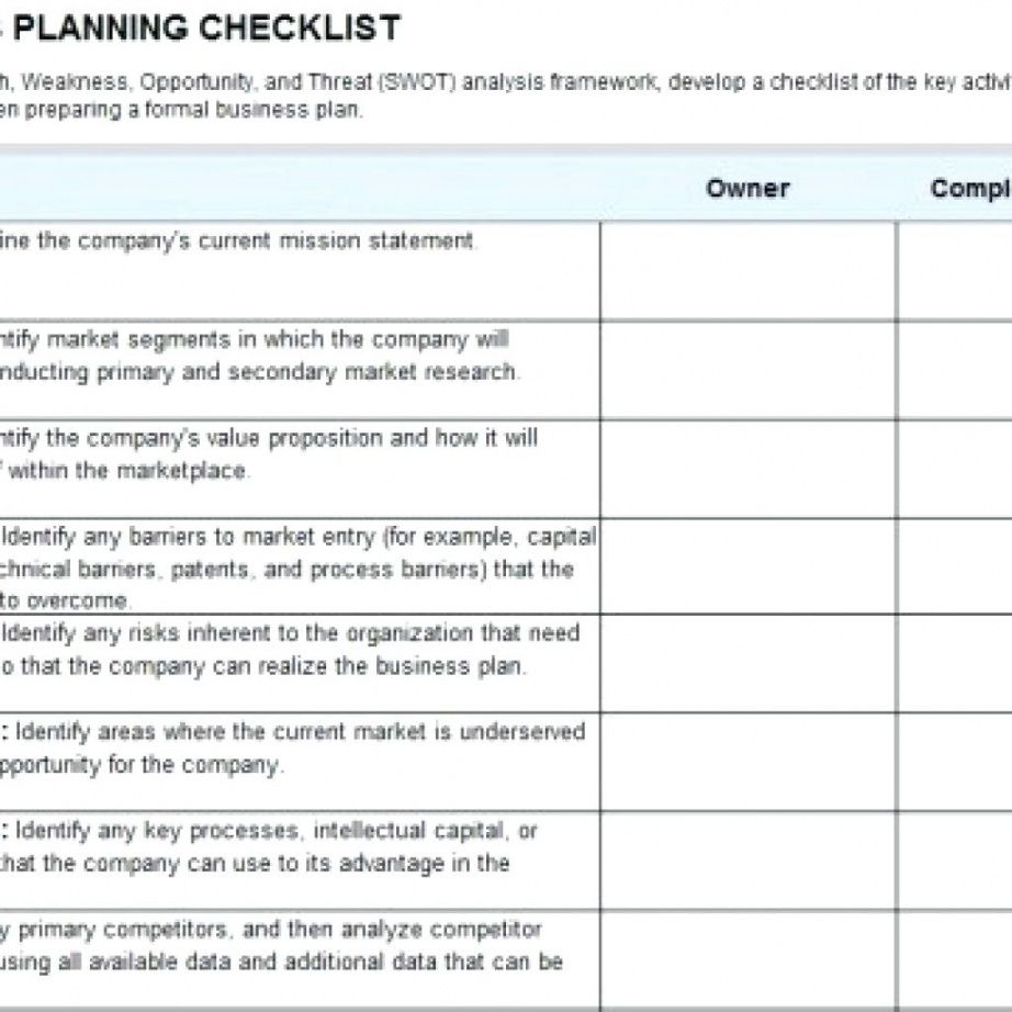 printable checklist template samples business continuity plan pdf testing business continuity checklist template excel