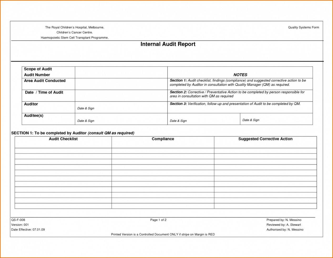 printable checklist template samples supplier audit internal report quality vendor audit checklist template samples