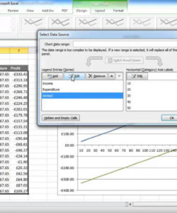 printable creating a breakeven chart in excel  youtube break even analysis graph template pdf