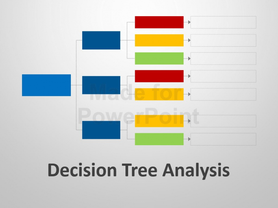 printable decision tree analysis template  powerpoint slides decision tree analysis template doc