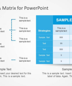 printable decision tree & matrix template for powerpoint  slidemodel decision tree analysis template