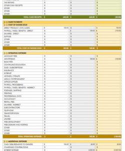 printable free cash flow statement templates  smartsheet  website design business cash flow analysis template excel