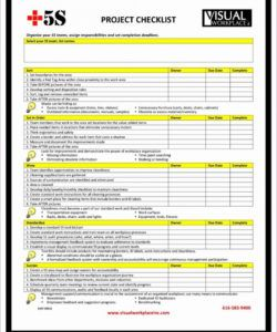printable project checklist template it progress review risk example handover it project checklist template pdf