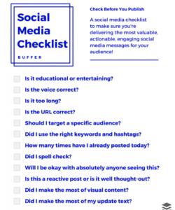 printable social media t pdf marketing audit template  martinforfreedom social media checklist template pdf