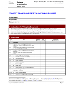 project checklist template initiation example construction closeout it project checklist template excel