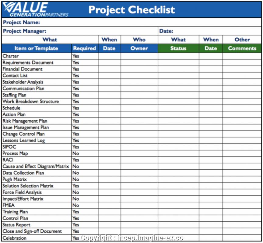 project management checklist e new construction ukashturka  smorad checklist project management template pdf