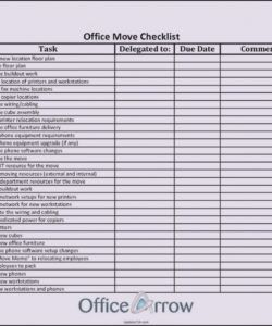 seven facts about office  label maker ideas information office move checklist template