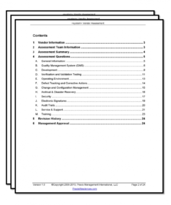 vendor assessment checklist new vendor checklist template