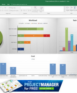 editable guide to excel project management  projectmanager workload analysis excel template excel