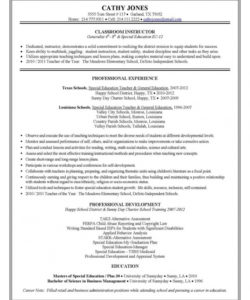 editable special education teacher resume and cover letter the national task analysis template for special education doc