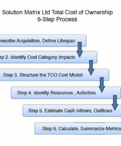 editable uncover all hidden lifecycle ownership costs find tco in 6 steps total cost of ownership analysis template pdf