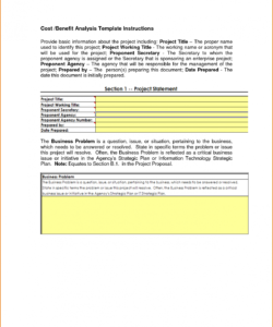 free 6 cost benefit analysis template excel  job resumes word cost benefit analysis template word