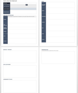 printable free needs analysis templates  smartsheet customer needs analysis template sample