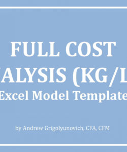 printable full cost analysis template kglb excel model template  eloquens cost price analysis template doc