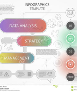printable modern colorful infographics workflow design template with line workflow analysis template doc