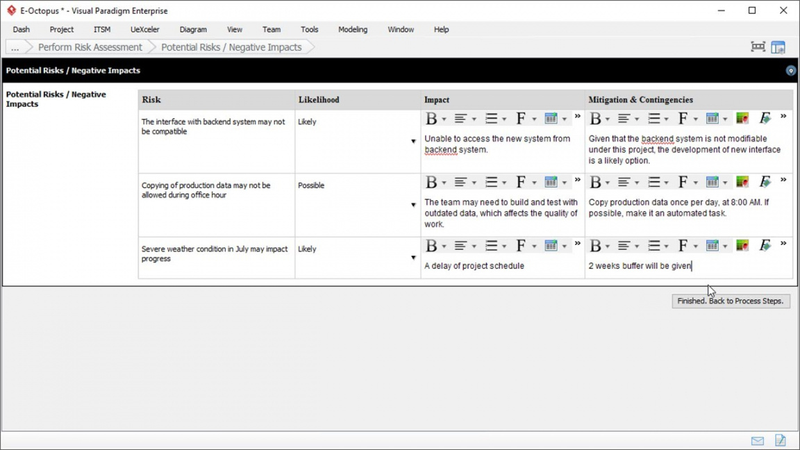 risk assessment template  project management  youtube project risk analysis template example