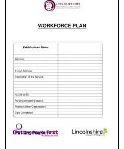 free 14 examples of workforce planning templates  pdf  examples workforce analysis report template example