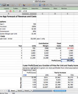 free spreadsheets to estimate costs sensitivity analysis spreadsheet template pdf