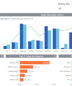 free understand your customers with a sales trend analysis report  sage sales trend analysis excel template doc