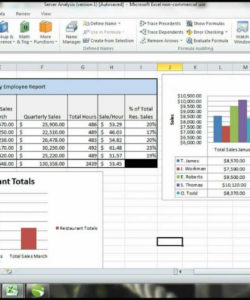 ms excel 2010 tutorial employee sales performance report analysis sales trend analysis excel template