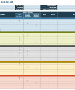 free onboarding checklists and templates  smartsheet on boarding checklist template samples